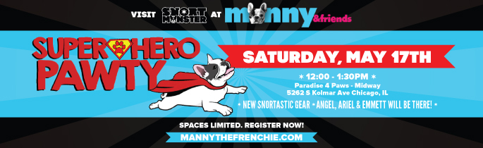 WHOA! We've Been Invited to Manny the Frenchie's Pawty!