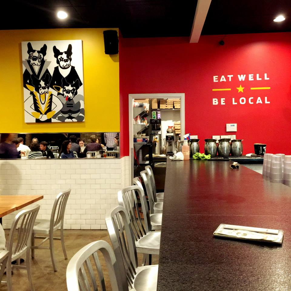 A visit to Austin with a bevy of Snort Monsters in tow isn't complete without a stop in the Boston Terrier-loving cafe, Austin Terrier.