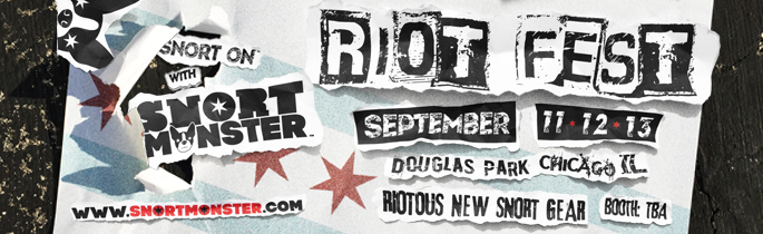 We Will Be At Riot Fest Chicago!