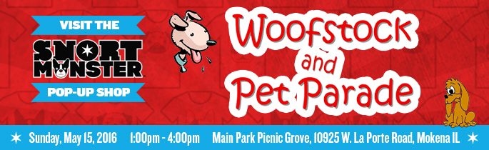 Find Our Pop-up Shop at Woofstock!
